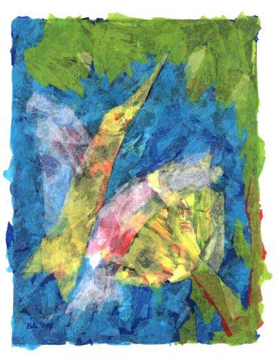 Repos du colibri